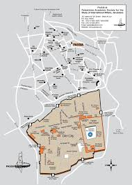 Az City Map Jerusalem Map