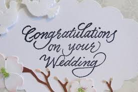 Congratulations Wedding Card Congratulations On Your Wedding Card
