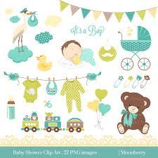 baby shower invitation border clip art 53