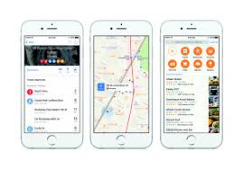 use apple maps to get where you want to go