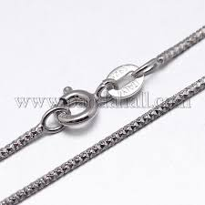 silver chain necklace snake images Wholesale sterling silver snake chain necklaces with spring JPG