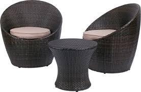 petit salon de jardin pour terrasse petit salon de jardin belize pour 2 personnes avec fauteuils ronds