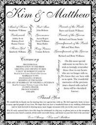 printable wedding program template pin by laree on wedding wedding program sles