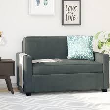 mercury row cabell twin sleeper sofa u0026 reviews wayfair
