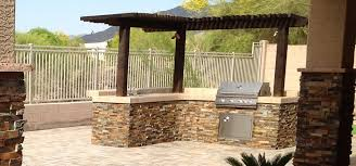 Backyard Bbq Las Vegas Built In Grill With Some Prep Space Could Even Do Some Bar Stools