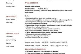 Sample Resume For Cleaning Job by Cleaning Job Description For Resume Reentrycorps
