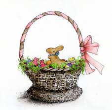 basket easter how to draw and paint a treat filled easter basket