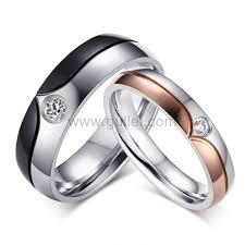 can titanium rings be engraved custom engraved matching zirconia titanium rings set for 2