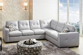 Sectional Gray Sofa Colored Leather Sectional Ggregorio