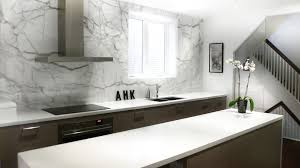 Backsplash With Marble Countertops - cultured marble countertops kitchen transitional with floral