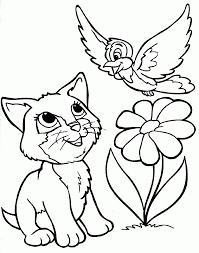 coloring pages cat colouring in pages coloring of cats cat