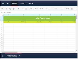 Spreadsheet Widget Overview Kendo Ui Spreadsheet Htmlhelper