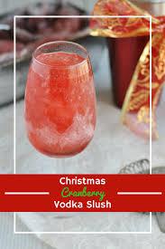 christmas martini png christmas cranberry vodka slush christmas cocktails