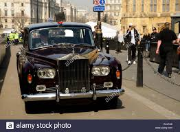 roll royce chinese rolls royce with chauffeur stock photo royalty free image