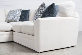 Free Hug Sofa by Glamour Ii 3 Piece Sectional Living Spaces