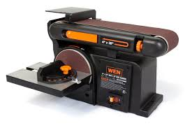 wen 6502 4 x 36 inch belt and 6 inch disc sander with cast iron