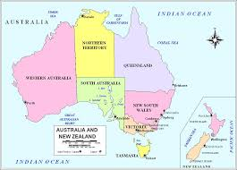 map of australia political geography political maps australia