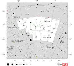 Phoenix Map by Phoenix Constellation Map Constellation Guide