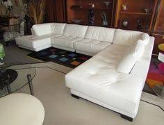 white leather sectional sofa with chaise divani casa tupelo modern white leather sectional sofa leather