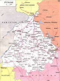 Punjab Map Punjab Map Pilgrimage Centres Beaches Hillstations Historical