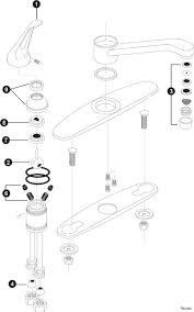 moen single handle kitchen faucet troubleshooting fascinating moen single handle kitchen faucet parts diagram ideas