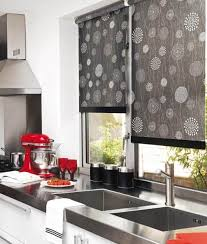 Curtains In The Kitchen by Roller Blinds 12 Options To Choose From Decor Around The World