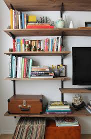 White Modern Bookshelves by Furniture How To Build Your Own Bookshelf 20 References