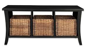 Bench With Baskets Bench Corner Storage Bench With Basket Industrial Storage Bench