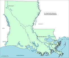 Louisiana Mississippi Map by Louisiana State Map Map Of Louisiana And Information About The State