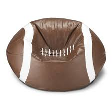 ace casual furniture football bean bag chair hayneedle