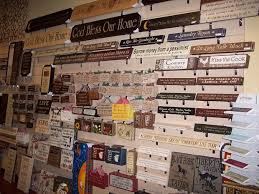 wood sign wall wall of wood signs claypoolsgiftandhome