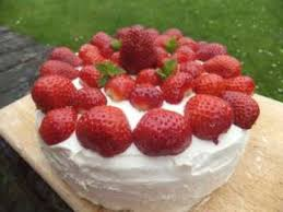 summery strawberry cream birthday cake recipe recipes uk