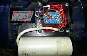 electric motor wiring diagram capacitor motors diagrams ac correct