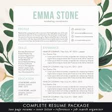 creative resume templates for mac resume template professional and modern resume cv template for