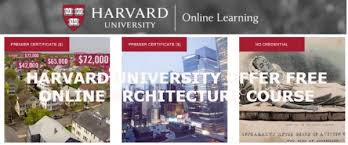 Free Online Architecture Design Online Architecture Course On Harvard University