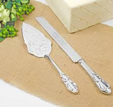 personalized wedding cake servers wedding cake knife u0026 server sets
