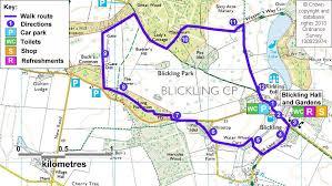 estate map blickling estate walk norfolk national trust