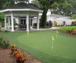 Small Backyard Putting Green Impressive On Backyard Putting Green Ideas Backyard Putting Green