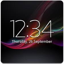 digi clock widget apk digital clock widget xperia android apps on play