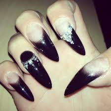 wicked nails long nails stiletto nails claw nails fingers