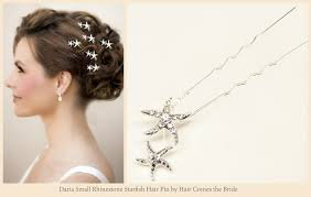 starfish bridal hair accessories for your wedding hair