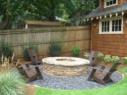 Firepit Chairs Backyard Pit Patio Craftsman With Adirondack Chairs Grass
