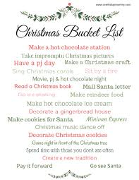 Christmas Carols Invitation Cards Free Christmas Bucket List Printable