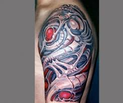 9 amazing biomechanical tattoo designs styles at life