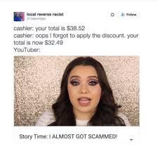Youtube Memes - storytime youtubers clickbait memes youtube title meme meme