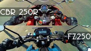 buy honda cbr yamaha fz25 or cbr 250r which one to buy youtube