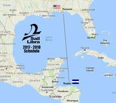Roatan Map December 12th U2013 19th Roatán Honduras U003e Pensacola Fl U2013 Sail