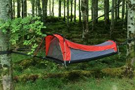 need a sleeping bag hammock and tent the crua hybrid can be all