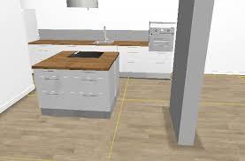 meuble de cuisine plan de travail hauteur plan de travail cuisine ikea survl com