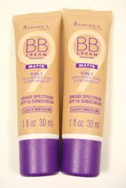 2 rimmel bb cream beauty balm matte 9 in 1 foundation makeup spf